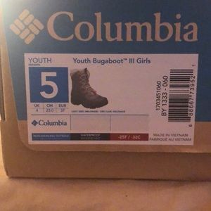 Worn 2-3 times brand New Columbia snow boots!!!!